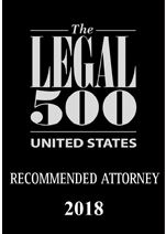 Joshua Gold Recommended in The Legal 500 2018