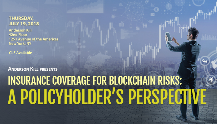 Anderson Kill Blockchain Insurance Risk Seminar