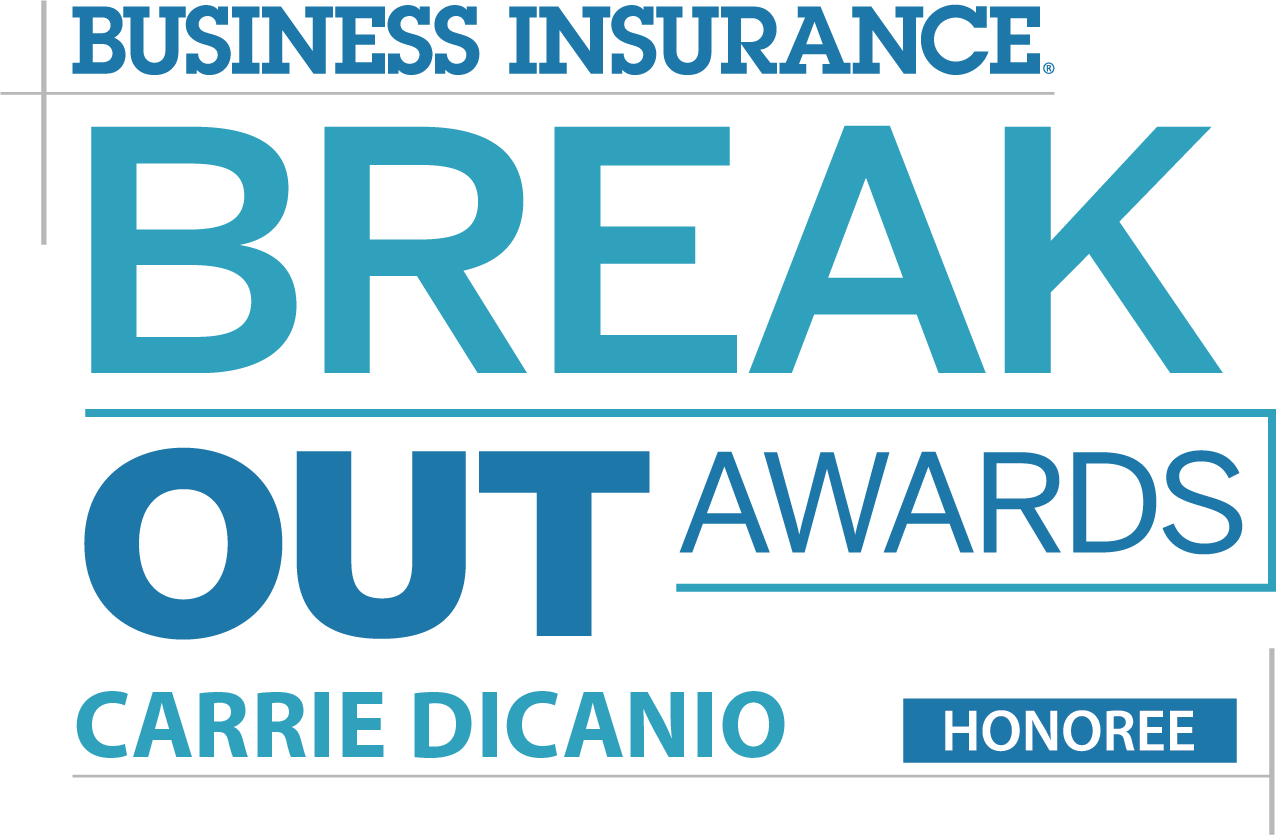 Carrie DiCanio 2018 Business Insurance Break Out Awards Winner