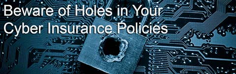 holes in cyber insurance policies